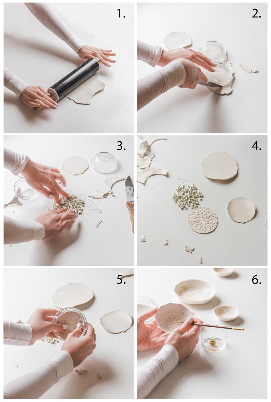 Clay bowl DIY 2