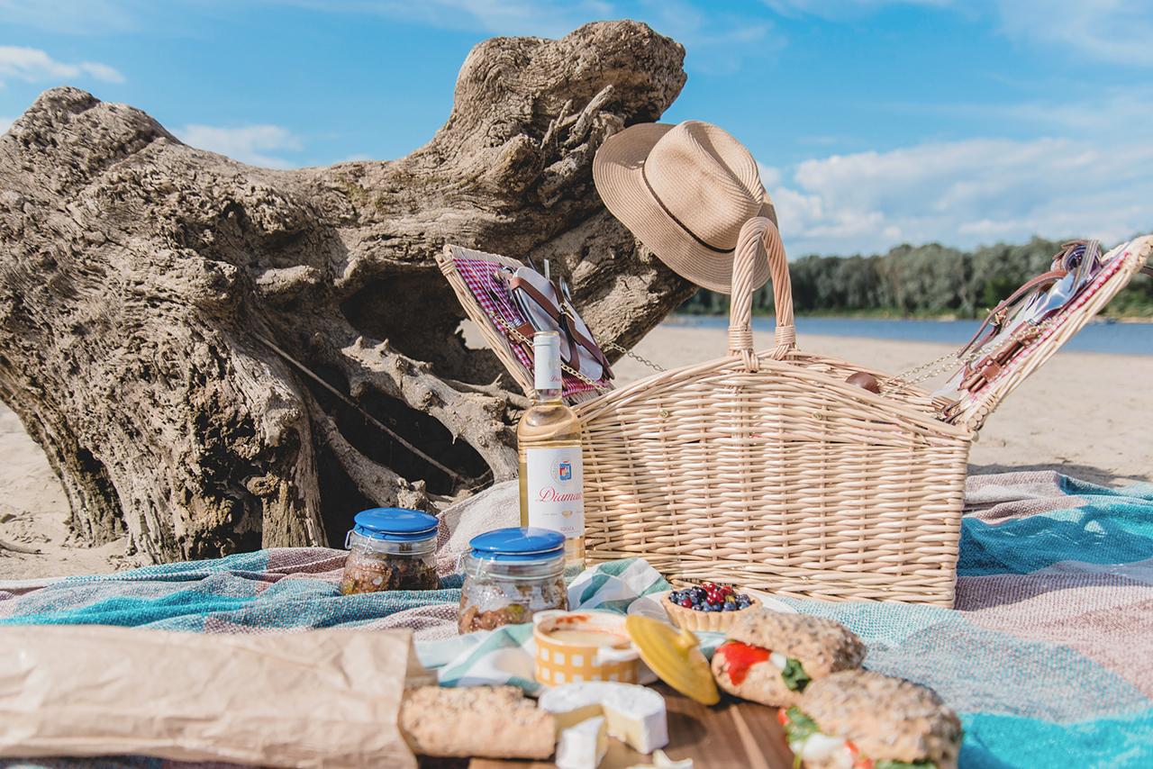 Letni piknik na plaży oraz przepis na Ratatouille z kiełbaskami chorizo 03