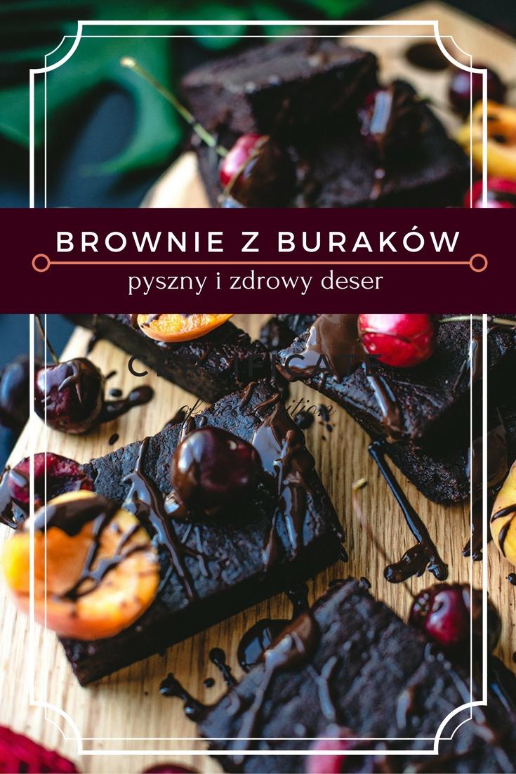 Brownie z buraków
