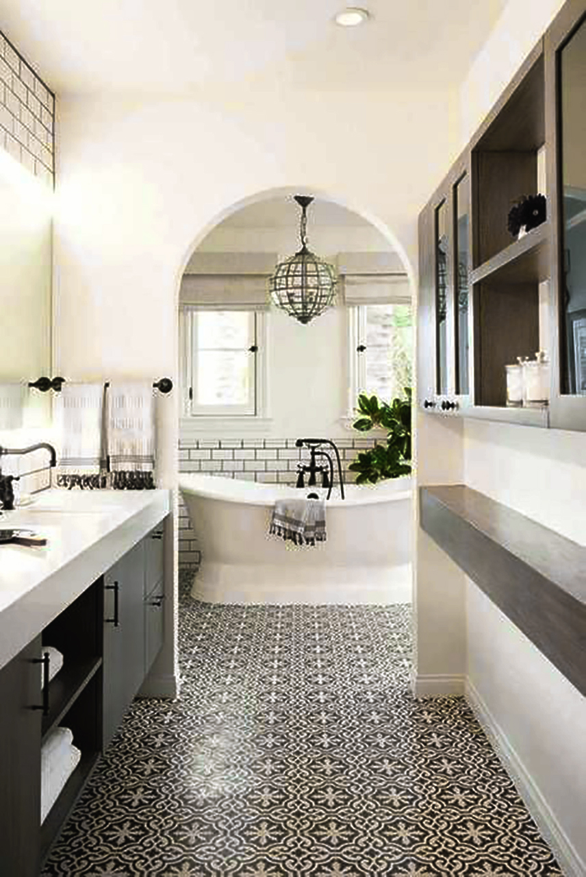 łazienka W Stylu Hampton Rie World