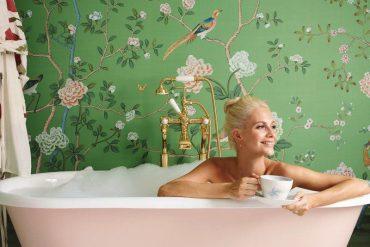 #TrendAlert: Tapeta w łazience! Galeria najbardziej spektakularnych wytapetowanych łazienek Pinterestu