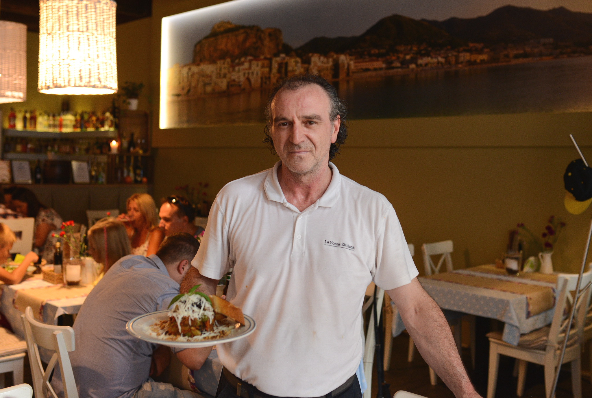 Cufo Vinarci szef kuchni La Nonna Siciliana