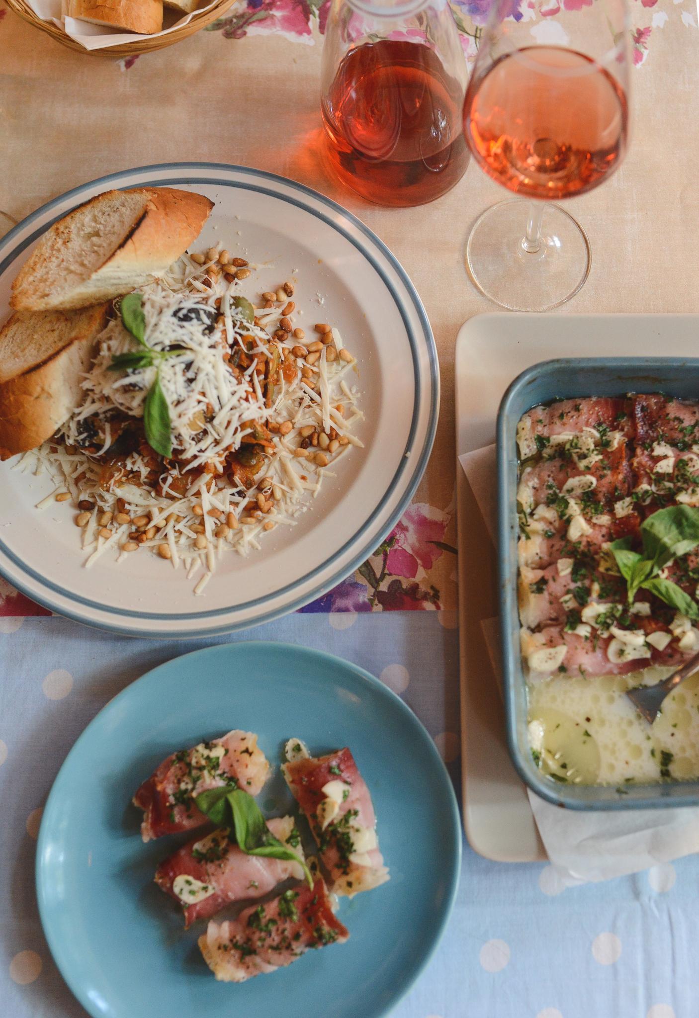 CAPONATA SICILIANA i PARMA, restauracja La Nonna Siciliana - sycylijska kuchnia w Toruniu