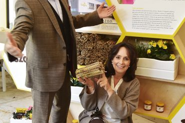 #BeeSmart: ratujemy pszczoły. My stawiamy hotele, ty siejesz kwiaty!